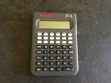 MetaliCal Metal Weight Calculator