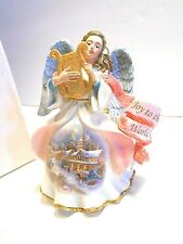 "Danbury Mint Heavenly Angels Ornament-"" Joy To The World"""