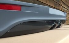 VW GOLF V 5 R32 GTI GTD TDI Heckansatz Heckschürze R-Line Carbon Look Diffusor!