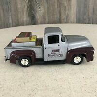 Hersheys Miniatures ERTL Replica 1956 Ford Pickup Truck Diecast Model No Box