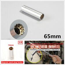 Extended Version 65mm High Strength Magnetic Spark Plug Socket Wrench 3/8 14MM