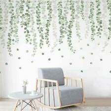 Foliage Branch Leaves Wall Stickers Vinyl Decal Home Office Decor Art Mural DIY