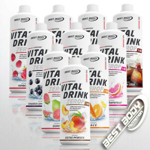 Best Body Nutrition Low Carb Vital Drink Mineraldrink Sirup 1 Ltr  11,94€/ 1 Ltr
