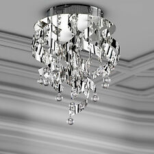 wofi Ceiling Light Marquis 5 Arms Chrome Hanging Crystal Lamp 100 Watt 1520