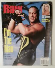 WWF RAW MAGAZINE - ROB VAN DAM - OCTOBER 2001