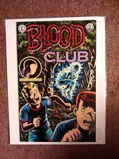 BLOOD CLUB #2- Charles Burns, '92 KITCHEN SINK 1st PB Printing *V. RARE & OOP!
