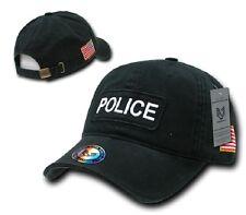 US Police Dual Flag Raid USA Polizei Cap Mütze mit USA Flagge
