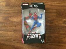 """Marvel Legends House Of M Spider-Man Sp/Dr Wave New 6"""" Action Figure"""