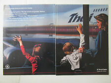 10/1989 PUB GENERAL ELECTRIC AIRCRAFT ENGINE BOEING 747 THAI AIRWAYS ORIGINAL AD