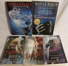 SHAYLA BLACK Erotic Paranormal Romance PB LOT Bound & Determined SIGNED