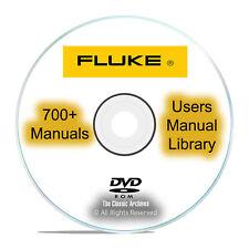 700 Fluke Service Instruction Operation Repair Users Manuals Pdf Cd Dvd I34