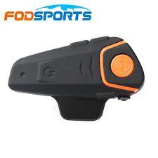 1000M BT Interphone Motorcycle Motorbike Bluetooth Intercom Helmet Headset FM