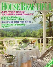 House Beautiful--July 1985 3 dream kitchens-----56