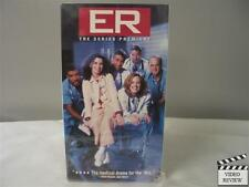 E.R. The Series Premiere VHS Anthony Edwards, George Clooney, Noah Wyle; Holcomb