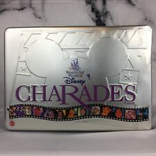 Disney Charades Game in Silver Collector's Tin 1999