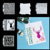 DIY Drawing Hollow Ruler Painting Template Plastic Stencils Scrapbooking