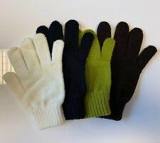 Woollen Medium Gloves - Suit Smaller Hands - Choice of Colours