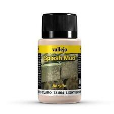 Vallejo Light Brown Splash Mud Model Paint Kit VAL 73804