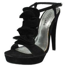 Scarpe da donna spilliamo cinturini alla caviglia in camoscio sintetico