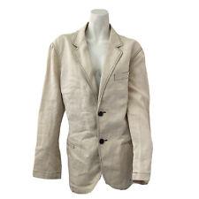 Armani Collezioni Blazer Off White Mens Size 42