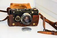Zeiss Ikon 1934 Contax Ic Rangefinder Film Camera w/s Carl Zeiss Jena Tessar EXC