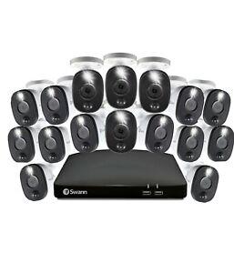 Swann DVR 4680 1080MSFB Warning Light Cameras CCTV Kit