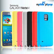 Funda Samsung Galaxy Note 4 de gel silicona gran absorcion de impactos