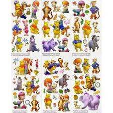 10x WINNIE THE POOH STICKER Disney Puuh Tigger Aufkleber Etiketten Stickerbogen