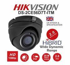 HIKVISION TURBO HD1080P 20M IR WDR EXIR 2MP 2.8MM TURRET GREY HIKVISION