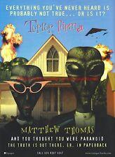 Terror Firma Voyager Books 2001 Magazine Advert #7082
