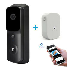 Wireless WiFi Video Doorbell Smart Door Ring Intercom Security Camera Bell 1080p