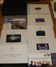 2001 Mercedes Benz M Class Owners Operators Manual Kit 01 ML 320 430 55 AMG