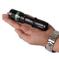 CRE 3 Q5 Lamp Cree Zoomable Led XM-L Black Zoom Flashlight Light Torch LED