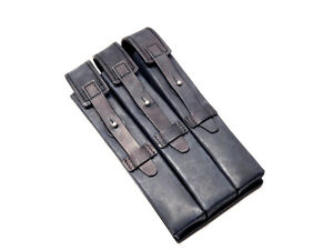 Star Wars Imperial Death Trooper Leather Ammo 3 Compartment Pouch Costume Part