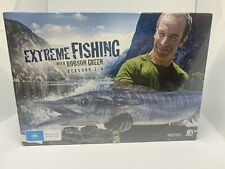 Extreme Fishing with Robson Green: Seasons 1-4 DVD 8-Disc Set Brand New Sealed