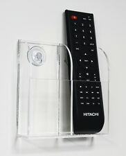 TV Air Conditioner Remote Control Holder Wall Mount Storage Box & Suction C