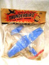 1960's B & K Enterprises Thunderbird w/Sonic Airplane MIP