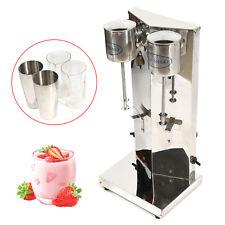 180w Electric Drink Milk Shake Maker Milkshake Mixer Stainless Steel Machine Usa