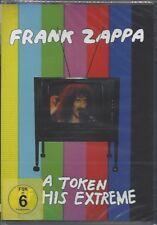 FRANK ZAPPA / A TOKEN OF HIS EXTREME * NEW DVD * NEU *