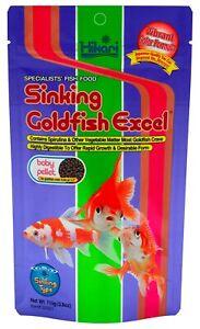 Hikari Sinking Goldfish Excel Fish Food 3.88 oz    Free Shipping