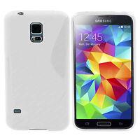 Silicone Gel SLine Phone Case Cover For Samsung Galaxy J1, J3, J5 Models + SP