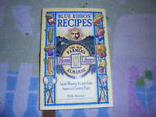 PB Blue Ribbon Recipes Old Farmer's Almanac cookbook home Library cooking