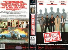 THE USUAL SUSPECTS - Byrne -VHS - PAL -NEW - Never played! - Original Oz release