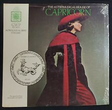 The Astromusical House of Capricorn/1969 GWP Records/Carroll Righter Sealed NEW