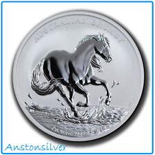 2020 Australia Brumby 1 oz Silver BU Encapsulated - 1st Release Perth Mint