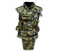 Tactical Military Operation Light Vest Polish Army Chest Rig Loaded Woodland Olv