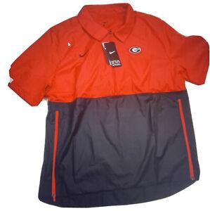 Nike Georgia Bulldogs Football Coach Windbreaker Jacket Men Sz XXL CQ5160-657