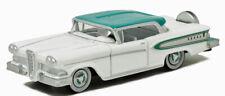 1958 Edsel Citation White/Turquoise Diecast Metal Car Oxford 1/87 Ho 87Ed58007