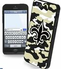 New Orleans Saints Camouflage iPhone 5 Hard Case