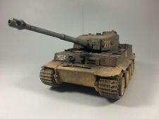 Forces of Valor 1:32 German Tiger I with Weathering Gray Color, Turret No.white